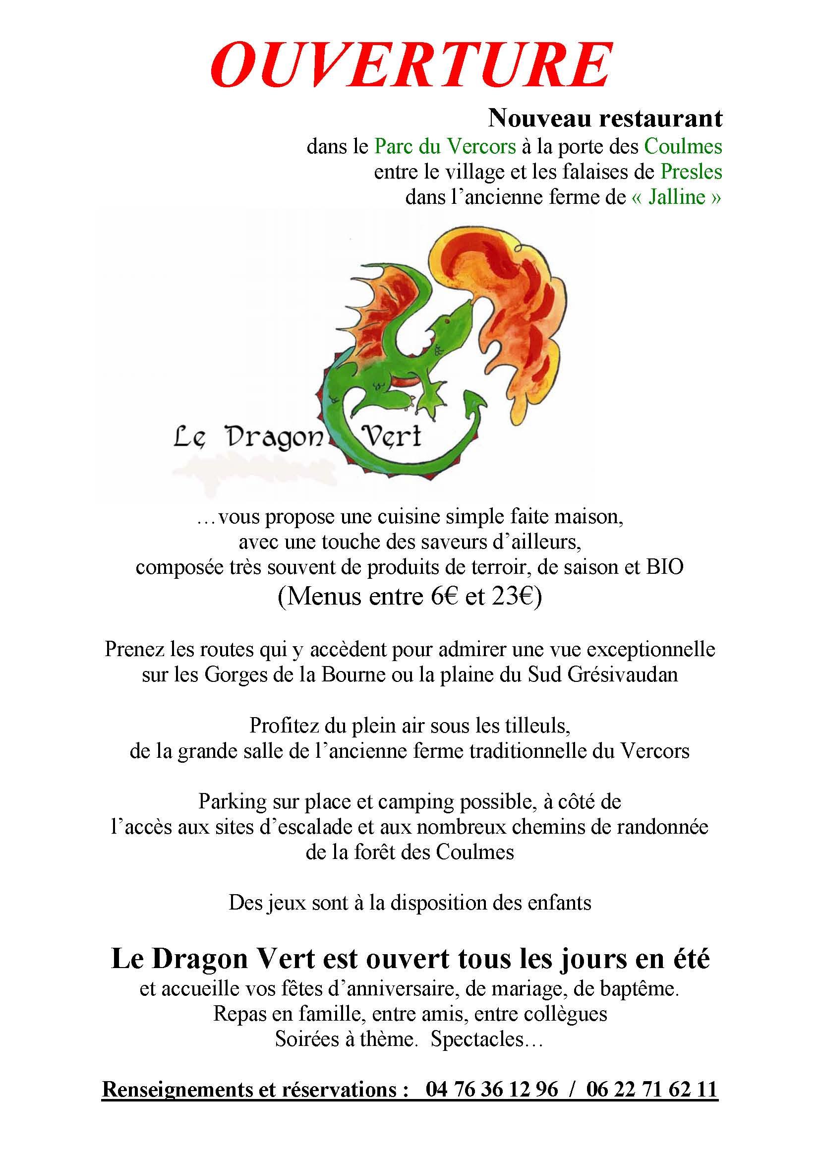 Restaurant Le Dragon A St Maximin